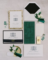 janet patrick wedding stationary