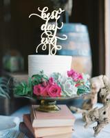 Laser-Cut Wedding Cake Topper