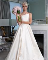 Legends Romona Keveža off the shoulder wedding dress fall 2019