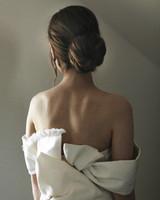 madison kyle wedding dress bow