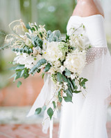 michelle robert wedding bouquet