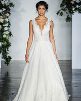 Morilee V-Neck Wedding Dress Fall 2018