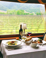 napa valley bachelorette wine train