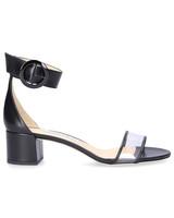 outdoor wedding shoes black block heel sandals