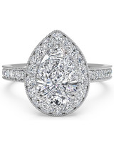 Ritani Pear-Cut Engagement Ring