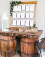 rustic wedding ideas amalie orrange