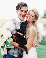 stephanie philip wedding dog