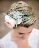 succulent headpiece