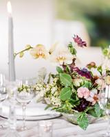 summer wedding centerpieces floral orchids