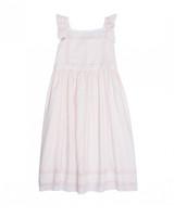 summer flower girl dress pink
