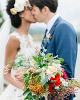 summer wedding bouquets emily sacco