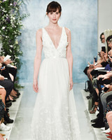 theia wedding dress with straps and embellishments fall2018
