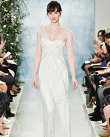 theia sheer beaded wedding dress fall2018
