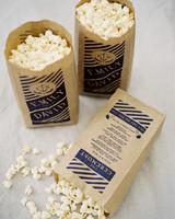 popcorn bag ceremony program