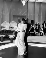 vanessa abidemi wedding couple first dance