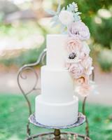 vanilla wedding cakes janine licare