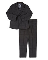 black ring bearer suit
