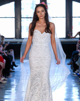 wtoo watters wedding dress spring 2019 sweetheart lace scallop detail