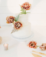 amanda chuck wedding simple cake