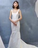 amsale fall 2018 sleeveless scoop neck mermaid