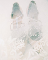 angie prayogo greece wedding veil shoes