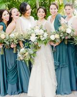 anuja nikhil wedding bridesmaids
