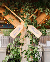 wedding oars