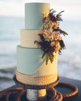 beach wedding cakes daniel lateulade