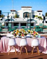 becca zac wedding table