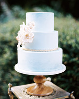 blue wedding ideas hunter ryan photo