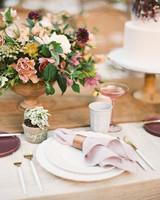 brooke dalton wedding place settings