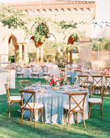cavin david wedding round reception tables
