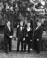 chelsea conor wedding groomsmen
