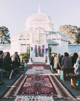 outdoor conservatory wedding