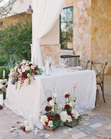 dianna amar wedding sweetheart table