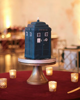 elizabeth seth wedding tardis grooms cake