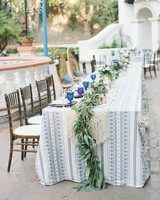 head table macrame vines