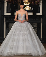 ines di santo wedding dress spring 2019 gray ballgown