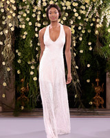 jenny packham wedding dress spring 2019 embellished sheath halter