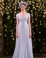 jenny packham wedding dress spring 2019 blue cap-sleeve a-line