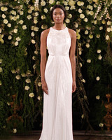 jenny packham wedding dress spring 2019 embellished high-neck sheath