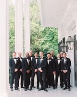 julia mitchell wedding groomsmen