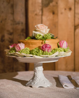 katy andrew wedding cake