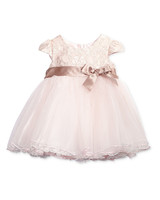lace flower girl dresses bonnie baby