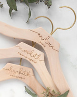 maid of honor proposal hangers