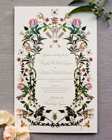 meg nick wedding invite