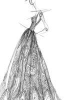 michal medina wedding dress