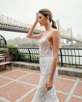 mira zwillinger dress fall 2019 trumpet sweetheart illusion straps floral applique