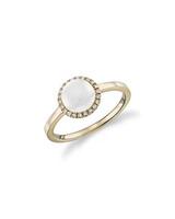 Moonstone Engagement Ring, Blue Nile