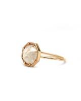 Moonstone Engagement Rings, Grace Lee Bezel Ring